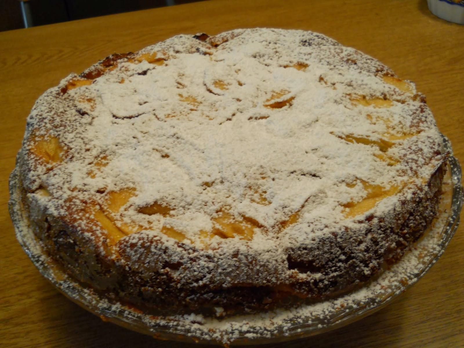 Rilassarsi tra i fornelli la cucina di silvana torta di mele cremosa - Silvana in cucina ...