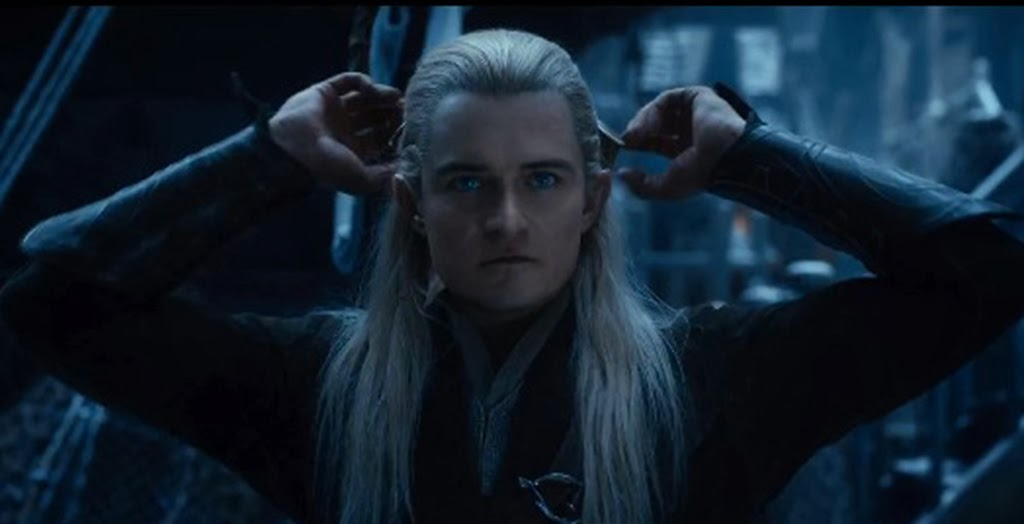Legolas The Hobbitt an Unexpected Journey 2013 movieloversreviews.blogspot.com