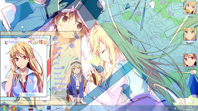 [Theme Win 7] Shina Mashiro By Bashkara