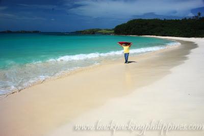 mahabang buhangin beach tinaga island vinzons camarines norte
