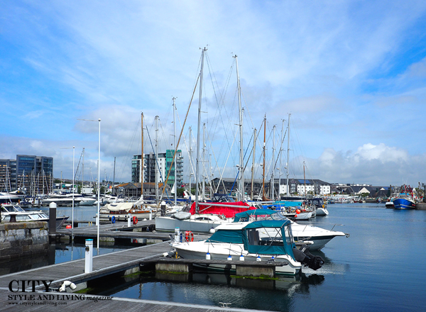 plymouth marina at sutton harbour