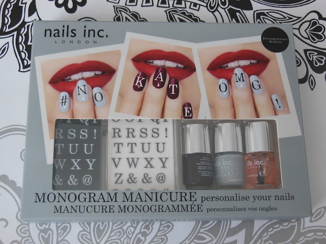 Nails Inc Monogram Manicure set