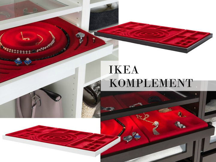 Ikea komplement jewelry drawer and dividers for Ikea complementi