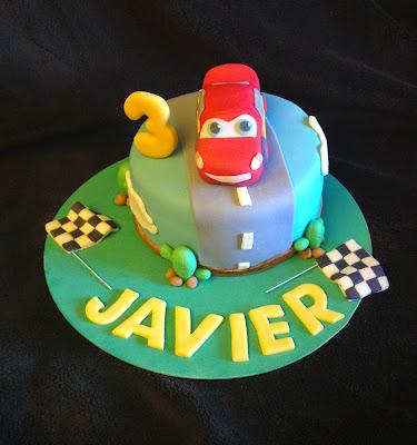 tarta decorada; tarta cars; tarta fondant cars; tarta decorada cars; tarta coche; cars; coche