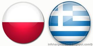 Hasil Skor Akhir Polandia vs Yunani | Euro 2012