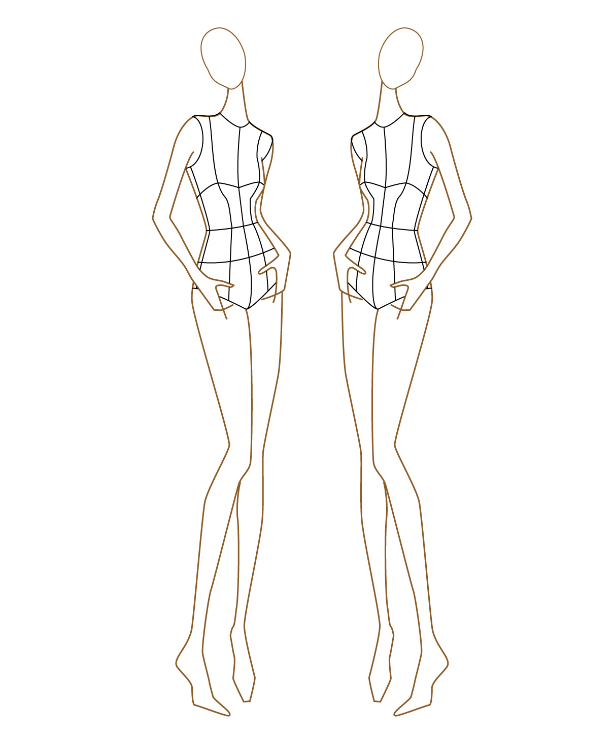 It's just a picture of Current Fashion Drawing Templates