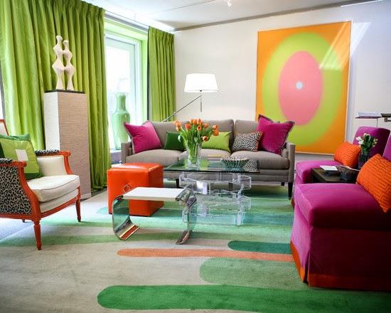 Warna Cat Desain Interior Rumah