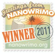 """I """"won"""" NaNoWriMo 2011"""