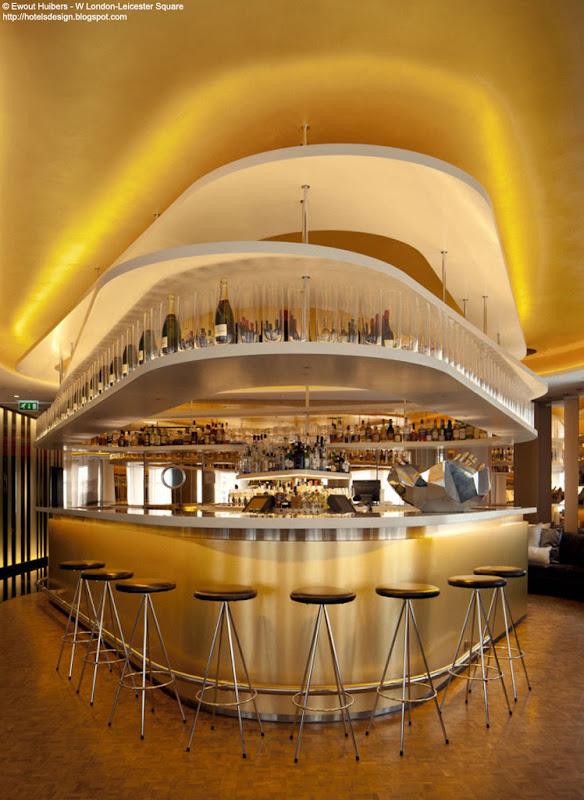 Les plus beaux hotels design du monde h tel w london for W hotel design