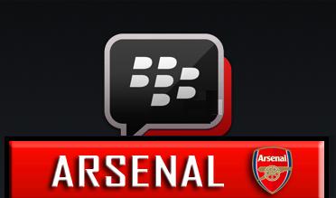 BBM Mod Dengan Tema Arsenal FC