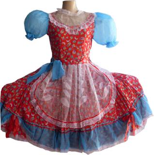 fotos de vestidos de quadrilha