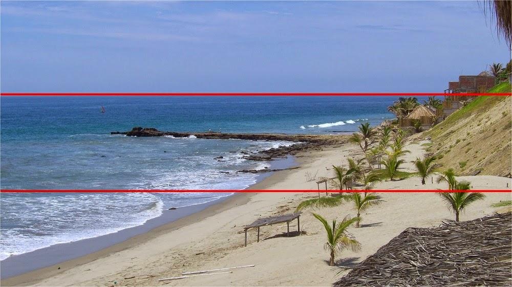 fotografia: Ley del horizonte