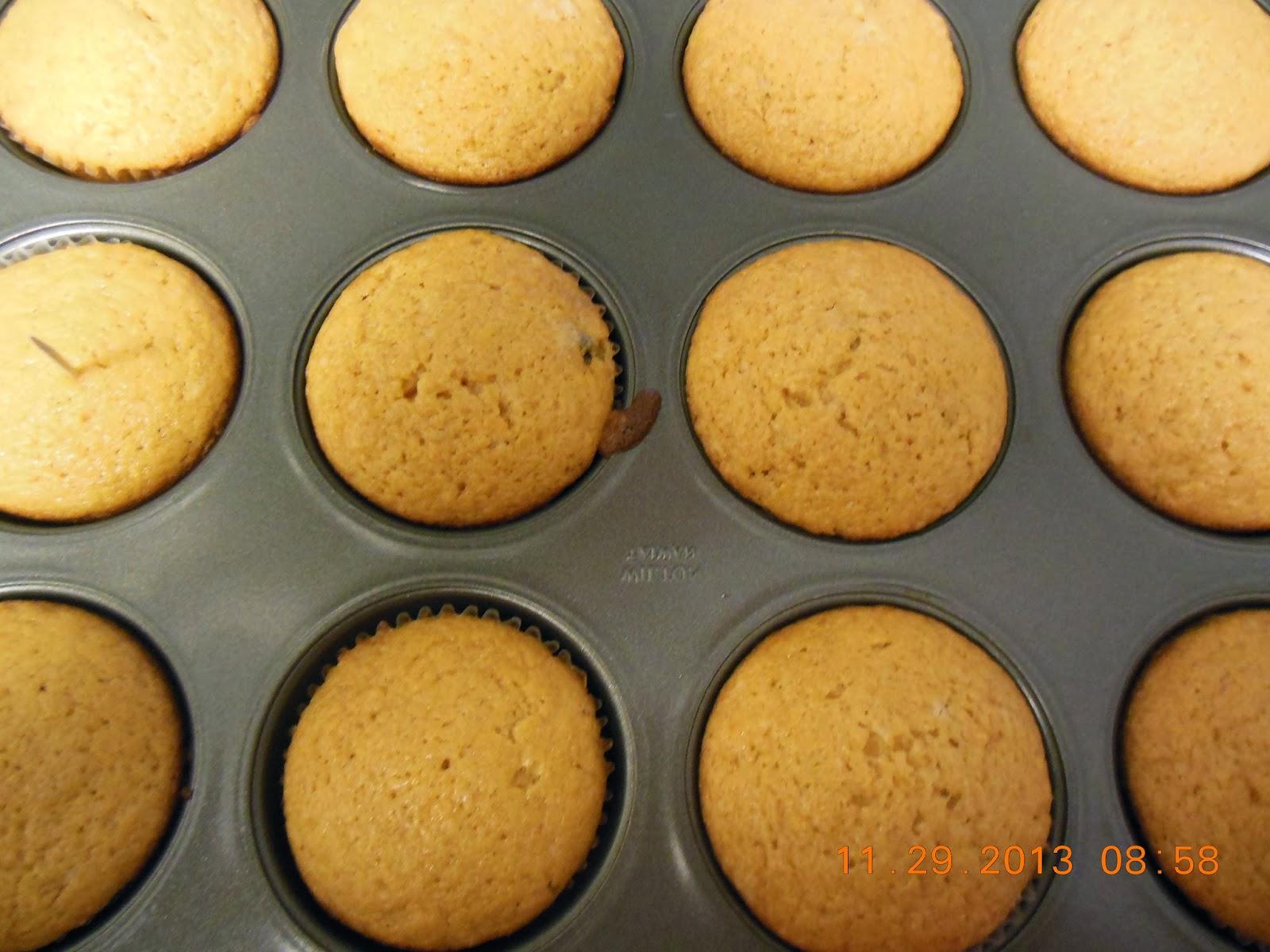 sweet potato muffins, because my husband loves muffins!