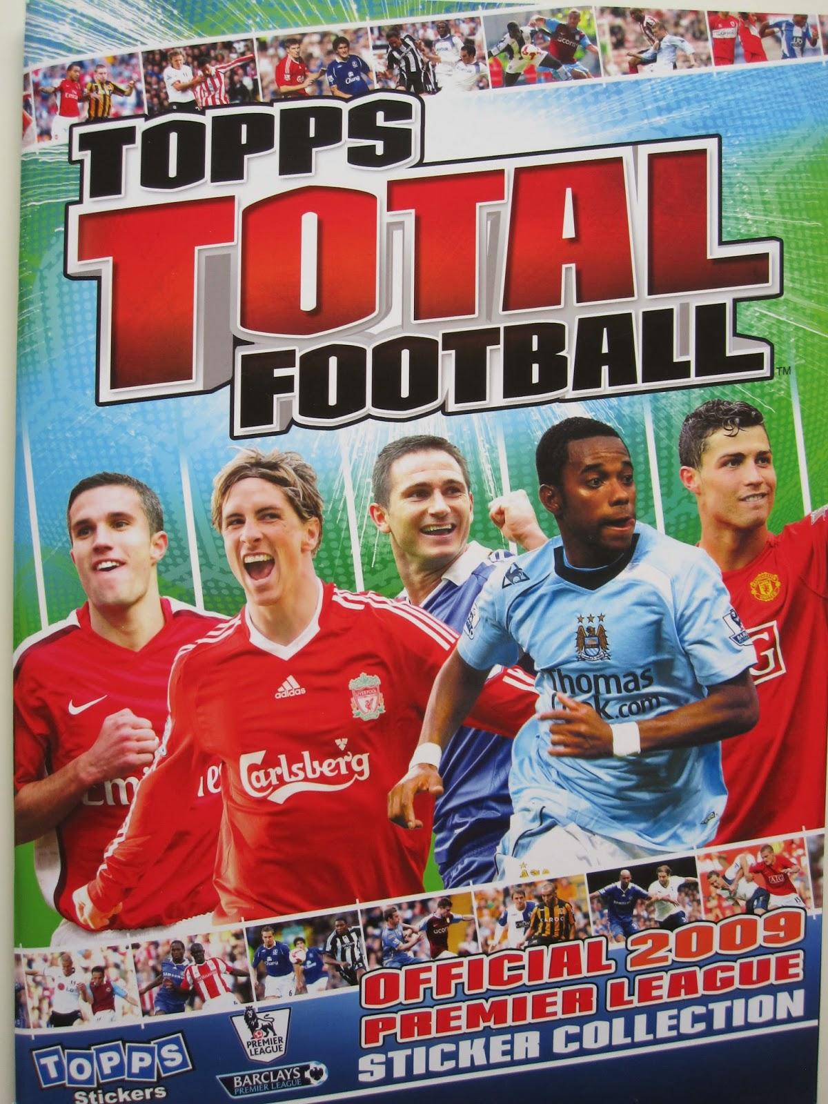 #040-ASTON VILLA-CHELSEA-READING-STEVE SIDWELL TOPPS TOTAL FOOTBALL-2009