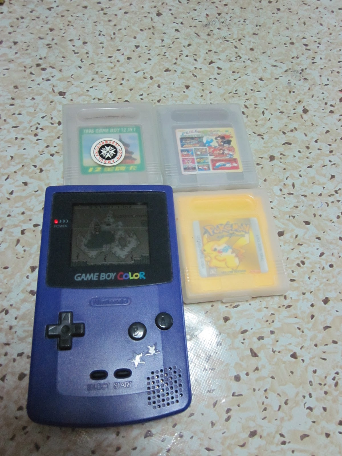 Game boy color list - Img_8460 Jpg