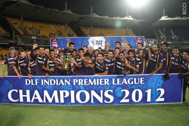 kkr finally wins the trophy ipl 2012
