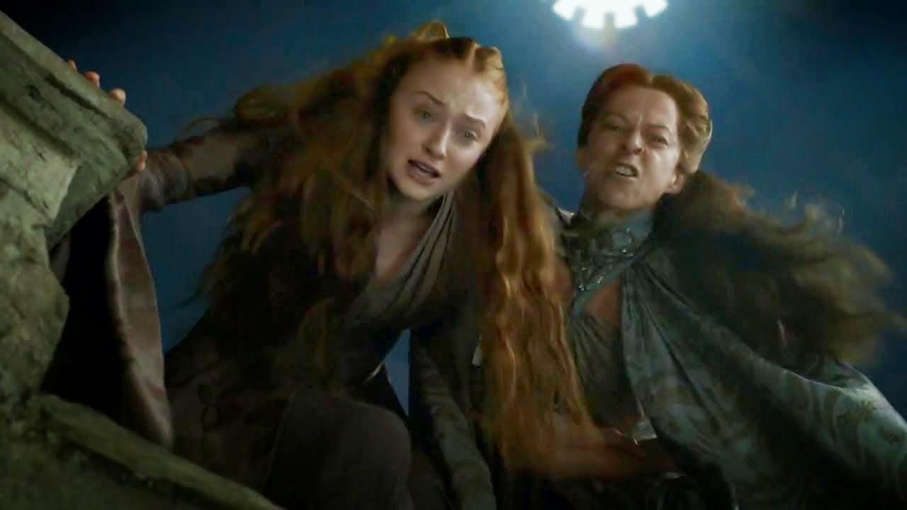 Lysa loca del coño 4x07 Game of Thrones