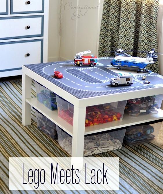 Lego meets lack table