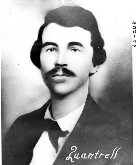 William Clarke Quantrill, 1837-1865