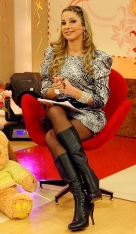 """Sofía Franco en el programa """"Amor, amor"""""""