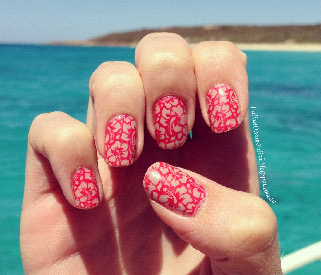 Indian ocean polish a collection of my past nail art design is from big sdp a the picture is taken from bunker bay naturaliste western australia prinsesfo Images