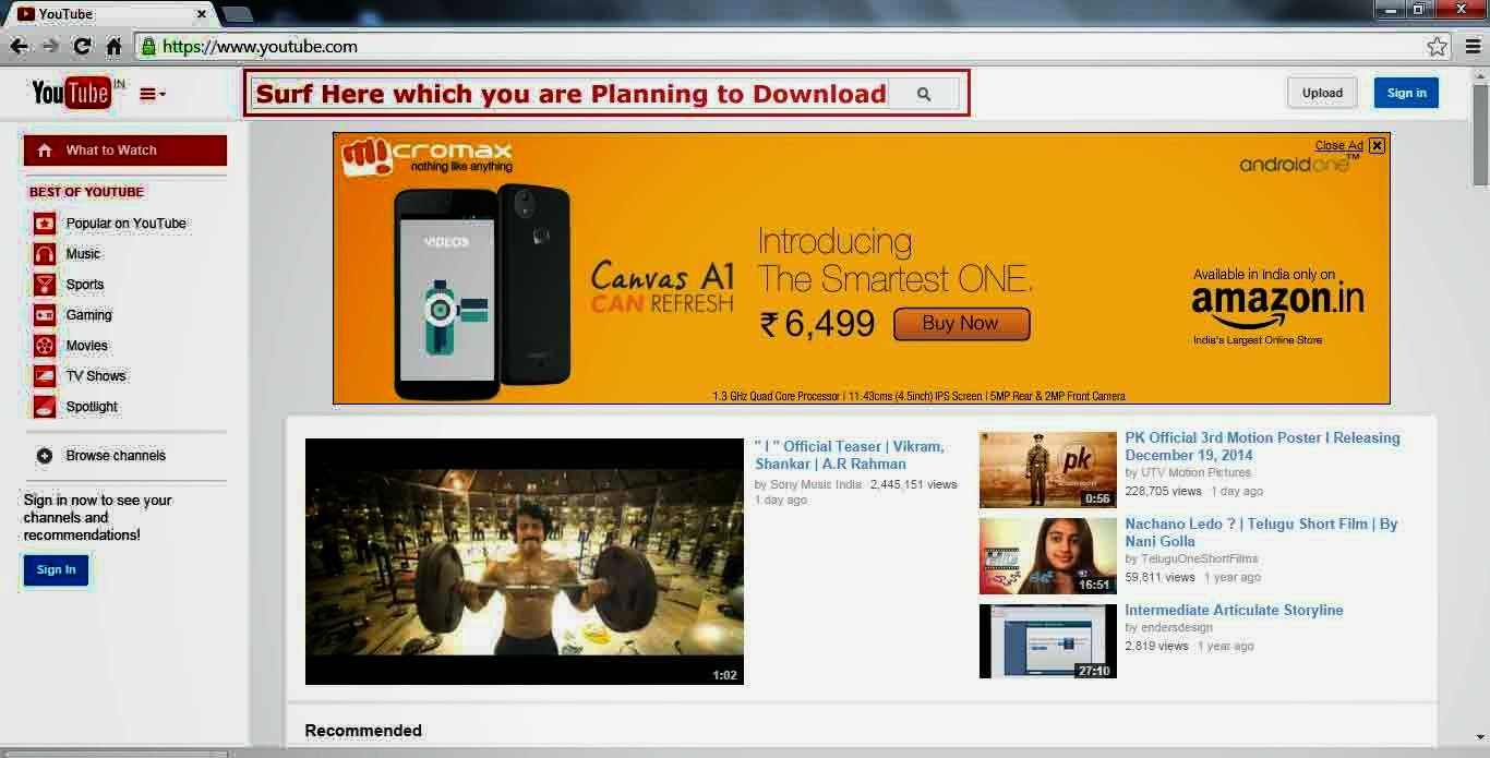 Mobile Without Using Any Software How To Download Youtube Videos Telugu  20161115 Youtube's Html5 Page