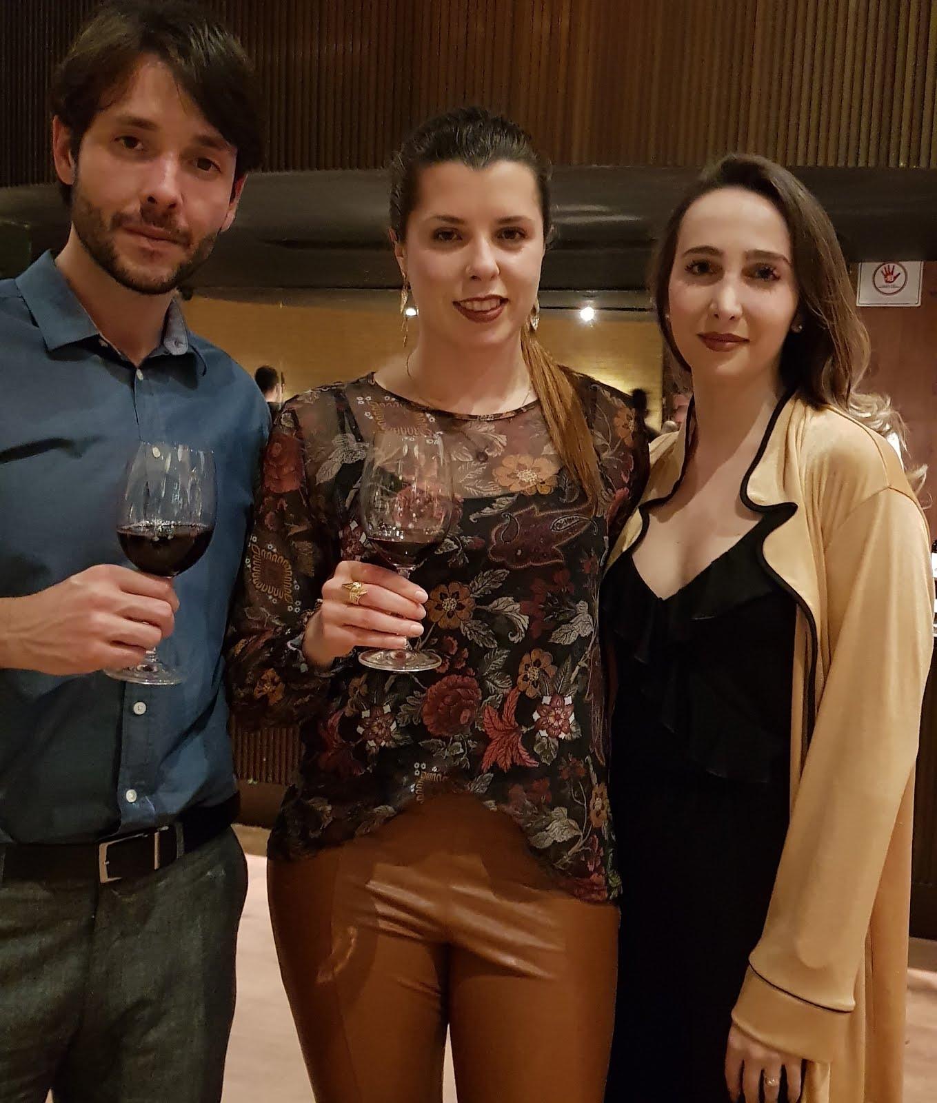 Momento com Matheus Bazan CEO da BEV GROUP e com Natasha Gonda da Evino