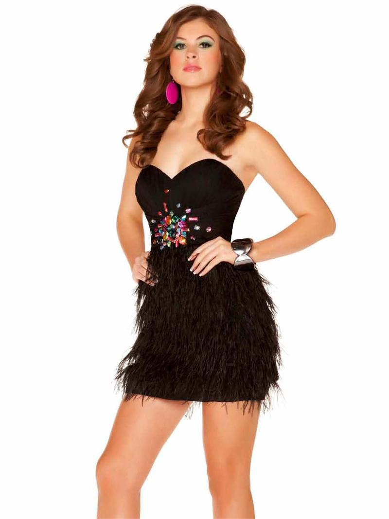 Vestidos de plumas