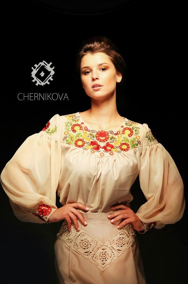 Fashion from Ukraine: Ukrainian ethno style