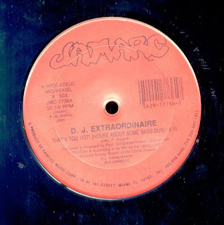 DJ Extraordinaire - That's Too Hot  (Vinyl, 12'' 1990)(Jamarc)