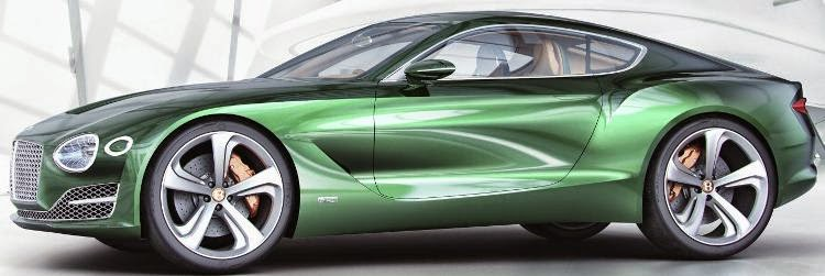 Saxton On Cars Bentley Exp 10 Speed 6 Concept