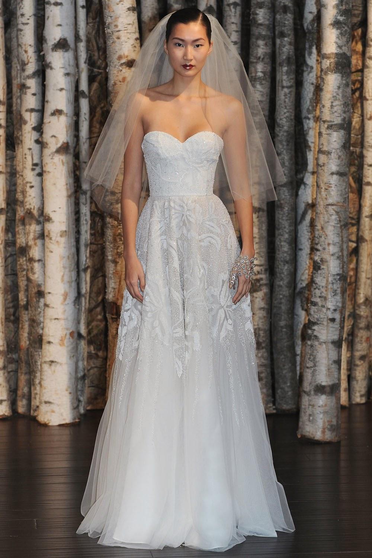 Naeem Khan Spring 2015 Wedding Dresses