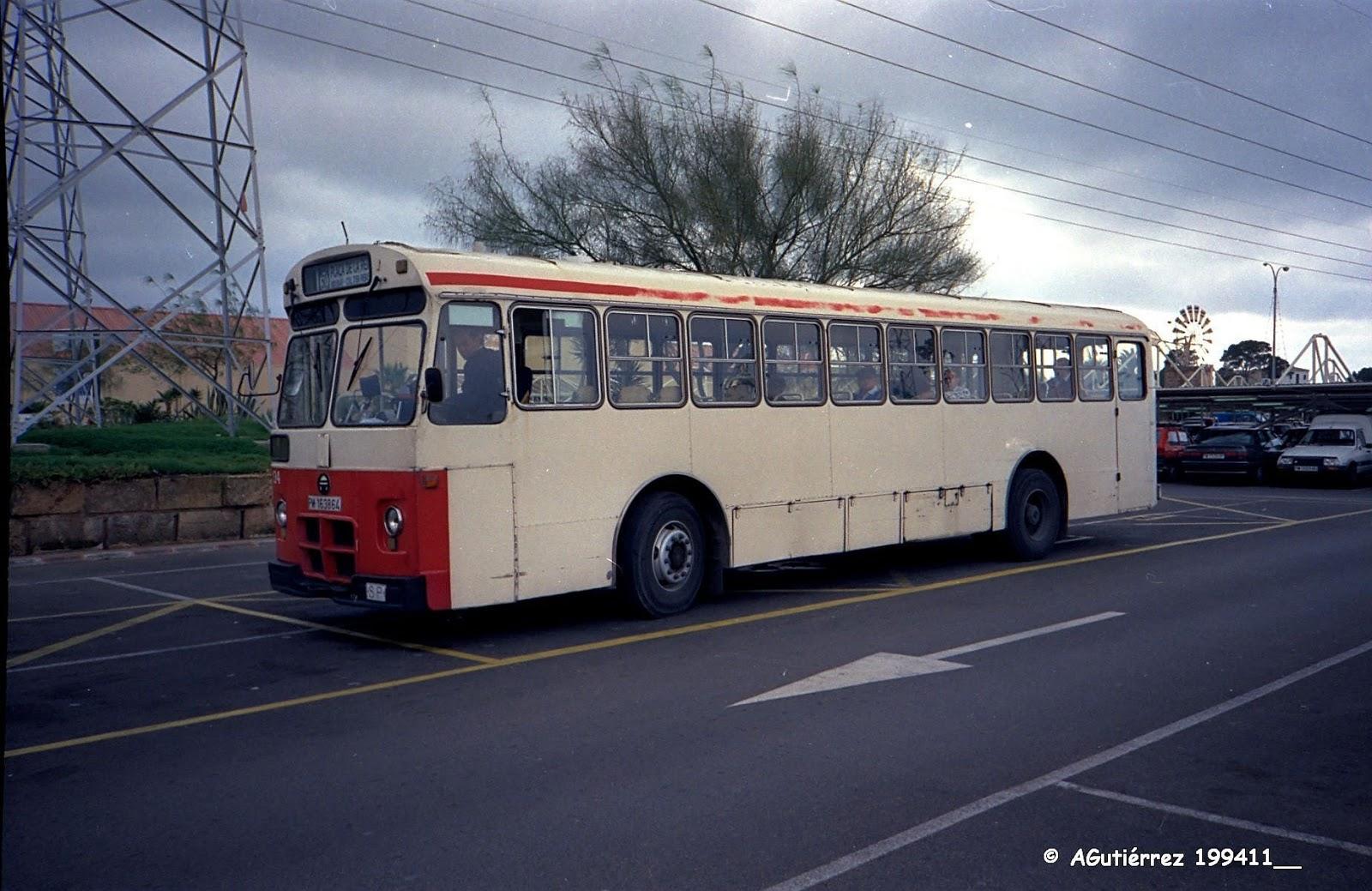 Autobuses de espa a pegaso 6035 autobuses de espa a - Transportes palma de mallorca ...
