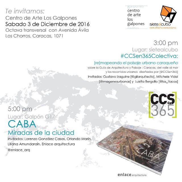 Cento de Arte Los Galpones, @CCSen365 invita: