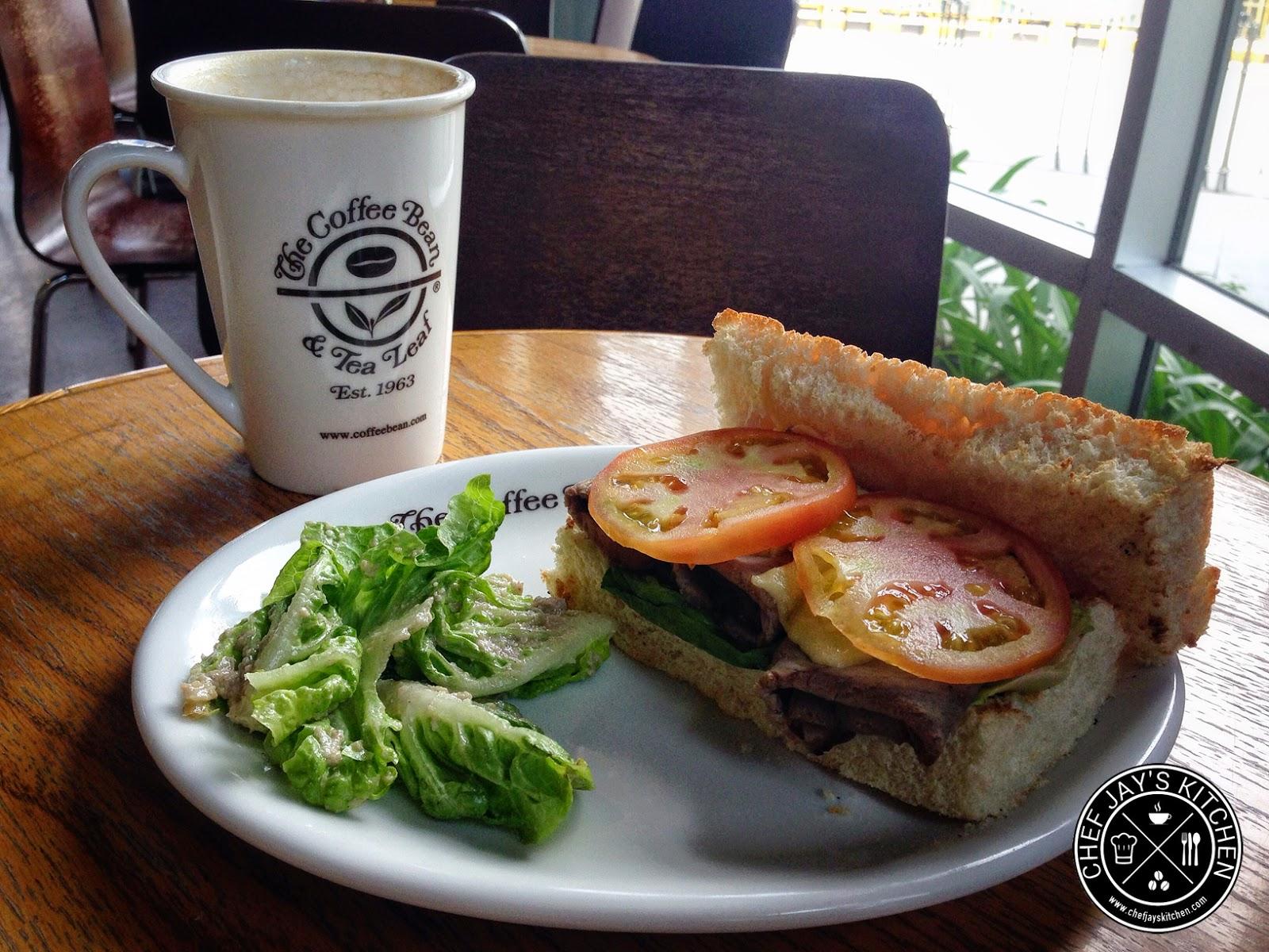 The Coffee Bean & Tea Leaf - CBTL Roast Beef Sandwich