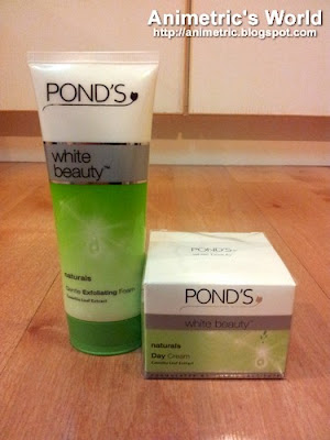 Ponds White Beauty Naturals