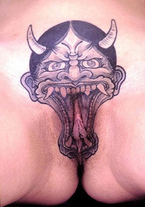 Simpson tattoo vagina homer