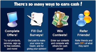 How to earn Money at Rewardingways.com