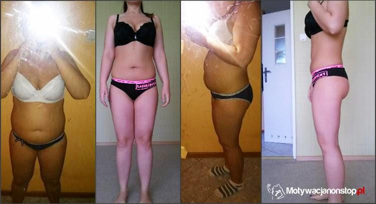Efekty treningów z Mel B -13kg mniej - metamorfoza Natalii
