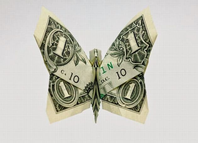easy money origami