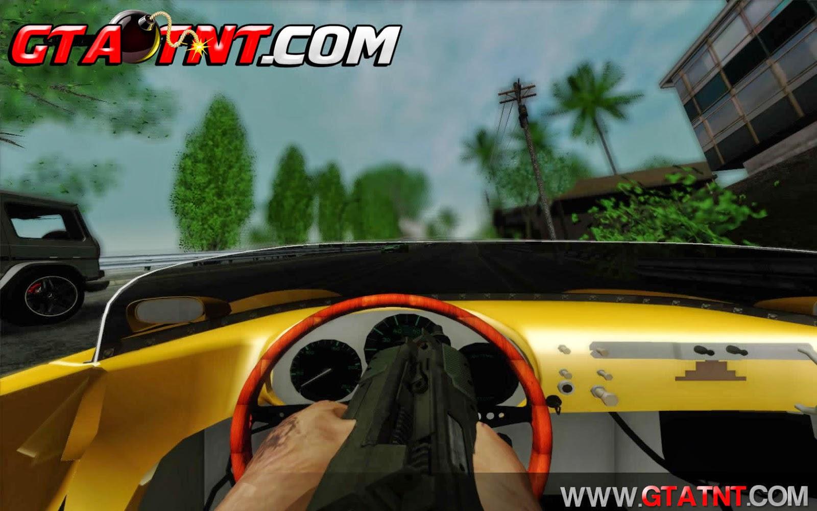 First Person Mod V3 (Primeira pessoa) para GTA San Andreas