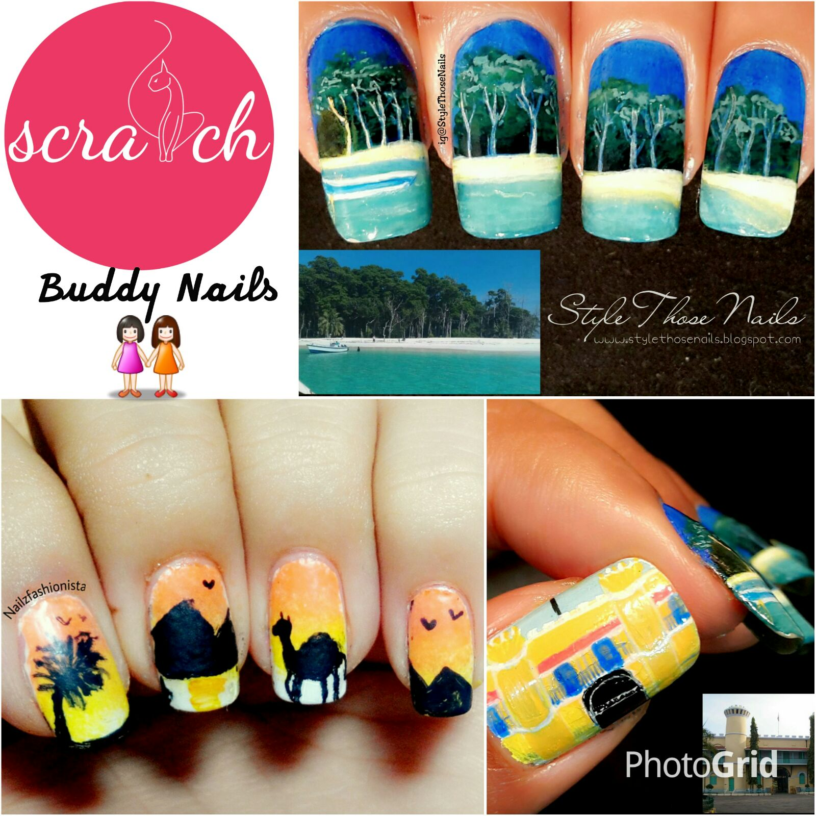 Style Those Nails: beach nails