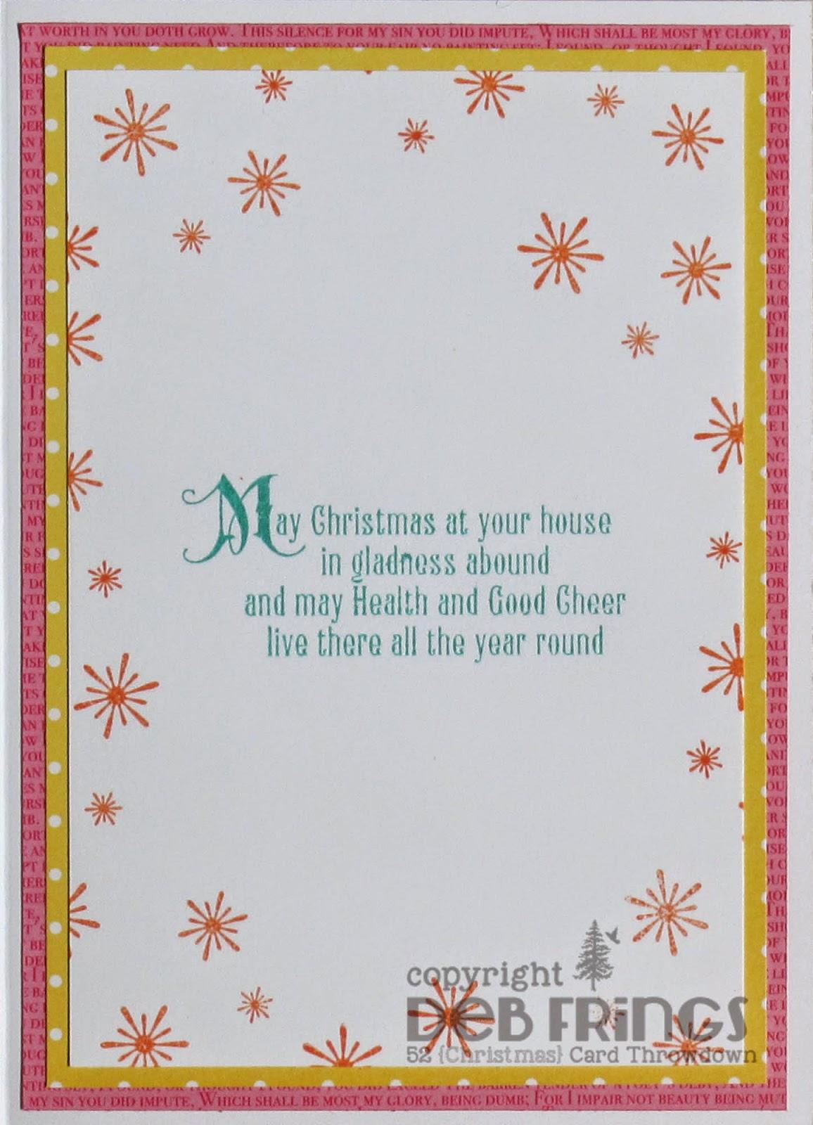 Naughty List inside - photo by Deborah Frings - Deborah's Gems