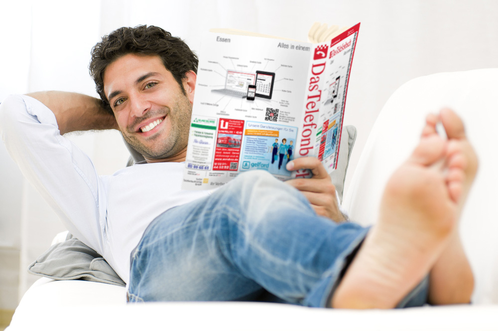 Better than Tinder: Man discovers new dating service phonebook