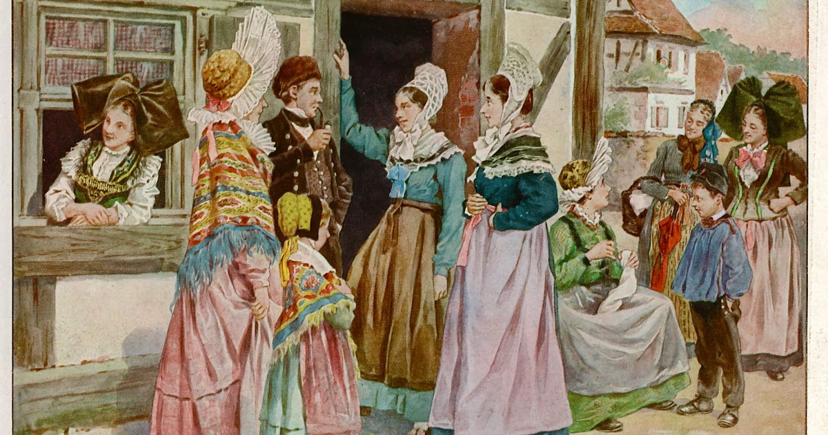 folkcostume embroidery overview of the costumes of alsace or elsass. Black Bedroom Furniture Sets. Home Design Ideas