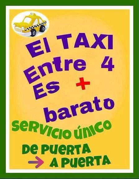 taxi compartido