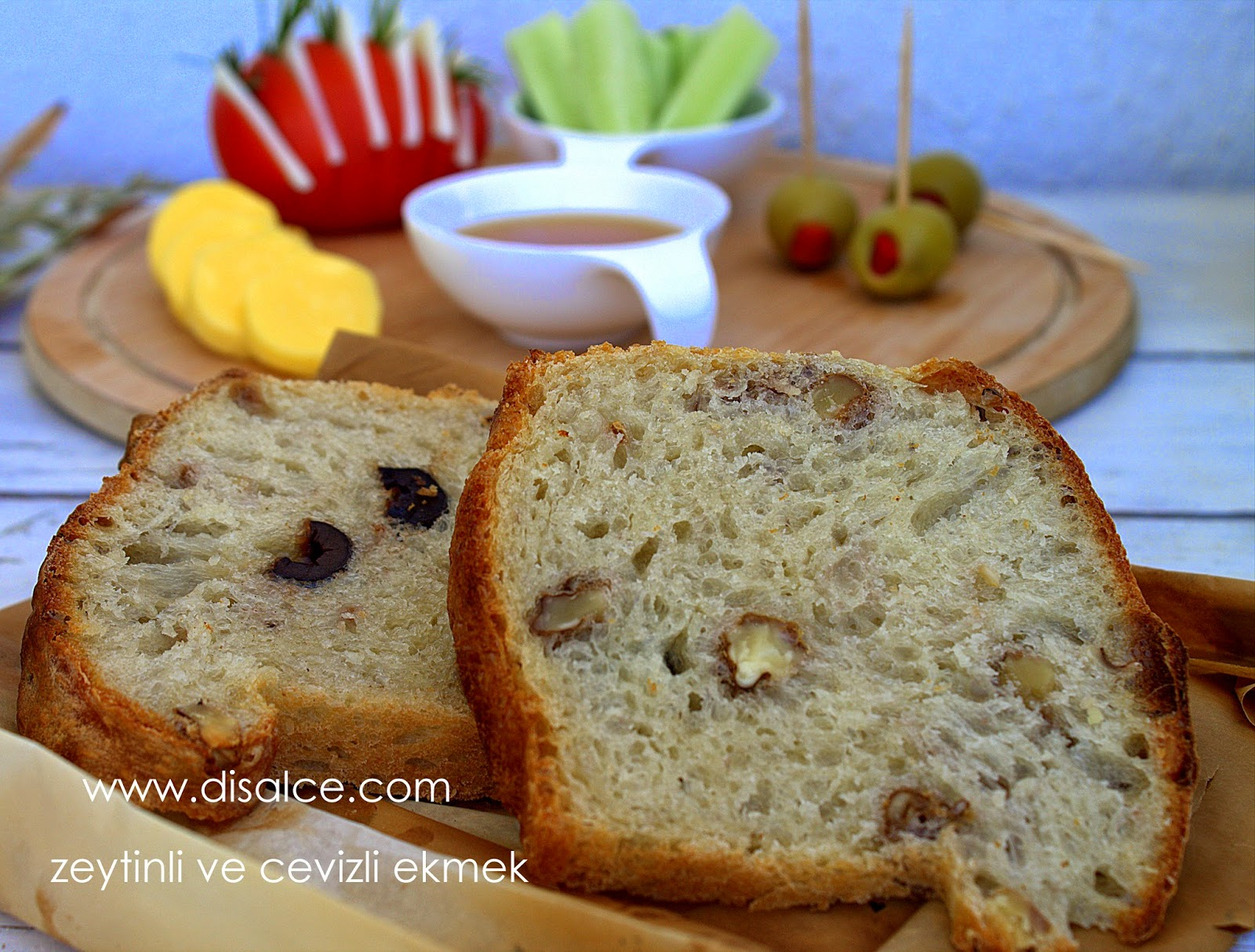 Cevizli ekmek tarifi
