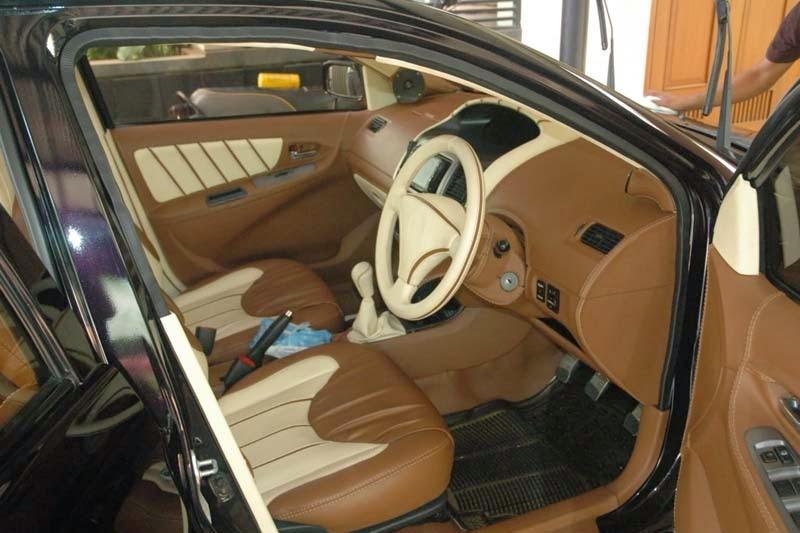 modifikasi interior mobil toyota vios
