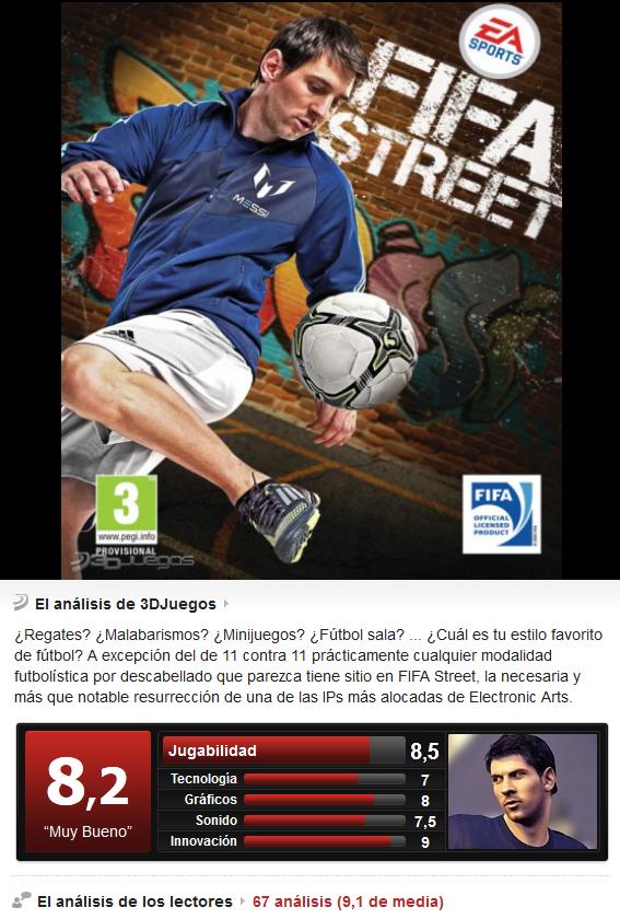 Fifa Street [PS3][3.55][Esp]