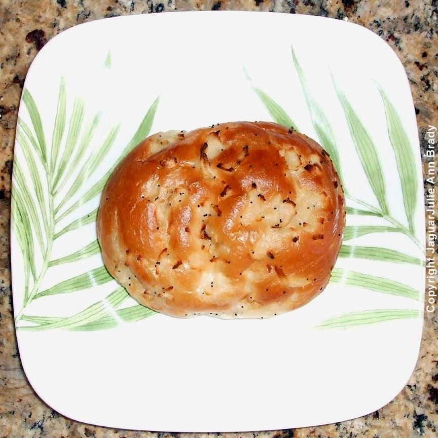 #1 - Start with your onion schnecken roll.